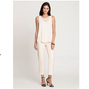 Nic+Zoe PERFECT PANT SIDE ZIP SANDSHELL ANKLE